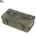 実物 フランス軍ファーストエイドメタルボックス