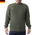 実物 新品 ドイツ軍コマンドセーター ポケット無し オリーブ ミリタリーファッション 軍服