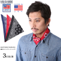 HAV-A-HANK ハバハンク MADE IN U.S.A. ジャイアント バンダナ 3色
