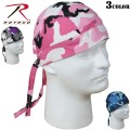 ☆ただいま15%OFF☆ROTHCO ロスコ Color Camo Headwrap3色