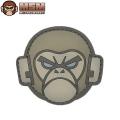 ☆20%OFF割引中☆【ネコポス便対応】MIL-SPEC MONKEY ミルスペックモンキー パッチ(ワッペン) Monkey Head PVC ACU-LIGHT