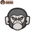☆20%OFF割引中☆【ネコポス便対応】MIL-SPEC MONKEY ミルスペックモンキー パッチ(ワッペン) Monkey Head PVC SWAT