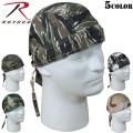 ☆ただいま15%割引中☆ROTHCO ロスコ Camo Headwrap5色