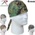 ☆ただいま15%OFF☆ROTHCO ロスコ Digital Camo Headwrap4色