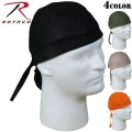 ☆ただいま15%OFF☆ROTHCO ロスコ Solid Color  Headwrap4色