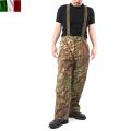 ☆まとめ割☆実物 イタリア軍ウォータープルーフオーバーパンツ ウッドランドフレック迷彩