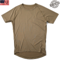 ☆20%OFFセール☆実物 新品 米軍PCU LEVEL1 Tシャツ COYOTE BROWN(ラグラン)