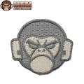 ☆今だけ20%OFF☆【ネコポス便対応】MIL-SPEC MONKEY ミルスペックモンキー パッチ(ワッペン) Monkey Head Logo ACU-LIGHT