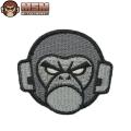 ☆今だけ20%OFF☆【ネコポス便対応】MIL-SPEC MONKEY ミルスペックモンキー パッチ(ワッペン) Monkey Head Logo ACU-DARK