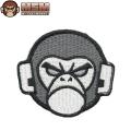 ☆20%OFF割引中☆【ネコポス便対応】MIL-SPEC MONKEY ミルスペックモンキー パッチ(ワッペン) Monkey Head Logo SWAT