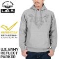 Liberator d.I.M リベレーター U.S.ARMY リフレクトプリント パーカー GREY