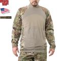 実物 新品 米軍 MASSIF製 コンバットシャツ MultiCam 米軍放出品●