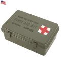 【即日出荷対応】実物 新品 米軍FIRST AID KIT MEDICALボックス 米軍放出品 メディカルボックス