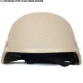 ☆ただいま15%割引中☆新品 米軍MICH2000タイプ グラスファイバーヘルメット カーキ