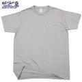 ☆ただいま20%OFF☆【ネコポス便対応】Velva Sheen ベルバシーン1PAC S/S MOCK TWIST クルーネックTシャツ H.GREY
