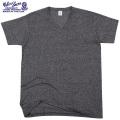 ☆ただいま15%割引中☆【ネコポス便対応】Velva Sheen ベルバシーン1PAC S/S MOCK TWIST VネックTシャツ BLACK