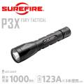 【キャンペーン対象外】SUREFIRE シュアファイア P3X FURY TACTICAL Ultra-High Single-Output LEDフラッシュライト (P3X-A-BK)