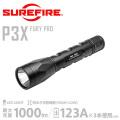 【キャンペーン対象外】SUREFIRE シュアファイア P3X FURY PRO Ultra-High Dual-Output LEDフラッシュライト (P3X-B-BK)