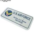 新品 U.S.AIR FORCE ミリタリー ブリキ ペンケース WHITE