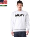 【訳あり】★キャンペーン対象外★実物 新品 米陸軍PFU ARMYスウェットシャツ