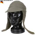 実物 新品 ドイツ軍コールドウェザーパイルキャップ