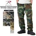 ★今なら18%OFF割引★ROTHCO ロスコ VINTAGE PARATROOPER 8ポケットカーゴパンツ 14色