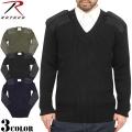 ☆まとめ割引対象☆ROTHCO ロスコ G.I.コマンドVネックセーター 3色