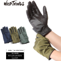 WILD THINGS ワイルドシングス NYLON SATEEN グローブ 3色