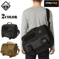 ★カートで10%OFF割引中★HAZARD4 ハザード4 SHERMAN LAPTOP MESSENGER-BRIEF 【BLACK/COYOTE】