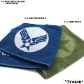 新品 U.S MILITARY スリム マフラータオル2色
