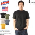 ★今なら18%OFF割引★【即日出荷対応】【ネコポス便対応】SOFFE ソフィー MADE IN USA コットン100% HERO Tシャツ 5色