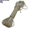 実物 スウェーデン軍 20m ロープ
