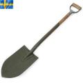 ☆まとめ割引対象☆実物 スウェーデン軍ヴィンテージシャベル 取っ手付き