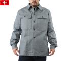 実物 新品 スイス軍後期型デニムワークジャケット●