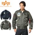 ALPHA アルファ CWU-45/P TIGHT フライトジャケット AIRCREW PATCH【TA0210】