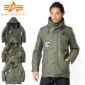 ALPHA アルファ HOODED ARMY M-65ジャケット【TA1165】