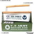 新品 U.S MILITARY ツールボックス2色