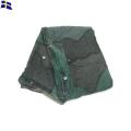 実物 スウェーデン軍 トライアングルテントシェル カモフラージュ パップテント テントシート