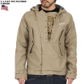新品 米軍 U.S.NAVY WET WEATHERパーカー KHAKI