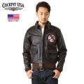 ★カートで15%OFF割引中★Cockpit USA コックピット Tokyo Raiders A-2 フライトジャケット