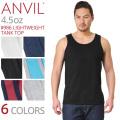【メーカー取次】ANVIL アンビル 986 LIGHTWEIGHT 4.5oz タンクトップ アメリカンフィット【キャンペーン対象外】