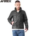【即日出荷対応】AVIREX アビレックス 6181066 ハイランド ラムレザー ダウンジャケット【キャンペーン対象外】