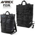 AVIREX アビレックス 6689003 P.D.W. TOTE BACKPACK トートバックパック ミリタリー アヴィレックス(キャンペーン対象外)