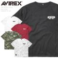AVIREX アビレックス 6103393 ビッグロゴ ルーズフィット 半袖Tシャツ【キャンペーン対象外】