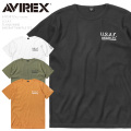 AVIREX アビレックス 6103412 U.S.A.F. FLYING WING AIRCRAFT ワッフル 半袖Tシャツ【キャンペーン対象外】