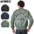 【一部8月上旬入荷予定】AVIREX アビレックス 6162133 L-2 CM LOGO フライトジャケット アヴィレックス【キャンペーン対象外】【予】