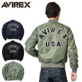 AVIREX アビレックス MA-1 CM LOGO MIL.-J-8279E フライトジャケット【6162164】