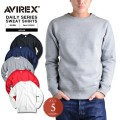 AVIREX アビレックス デイリーウェア 6153509 スウェットシャツ アヴィレックス【Sx】