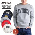 AVIREX アビレックス デイリーウェア 6153513 ロゴ スウェットシャツ