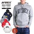 AVIREX アビレックス デイリーウェア 6153514 ロゴ スウェットパーカ